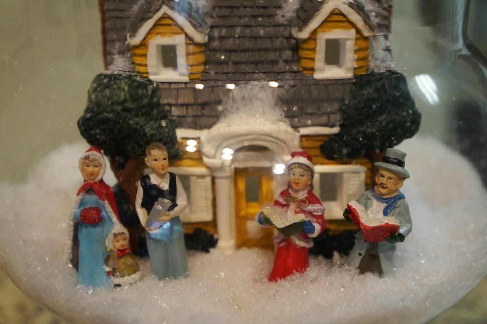 Apothecary Snow Scene