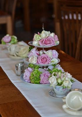 Pink Peony Vintage Tea Room