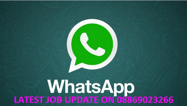 Latest Jobs Update on Whatsapp