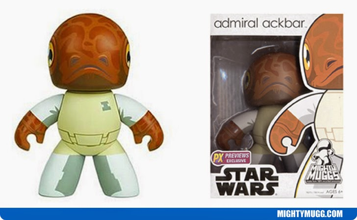 Admiral Ackbar Star Wars Mighty Muggs Exclusives
