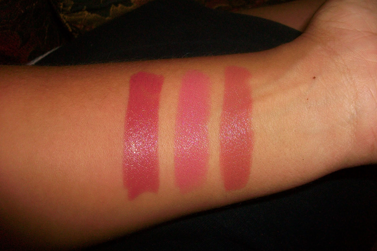 Nyx Frappuccino Tea rose  frappuccinoNyx Narcissus On Dark Skin