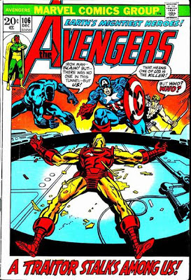 Avengers #106, the Space Phantom