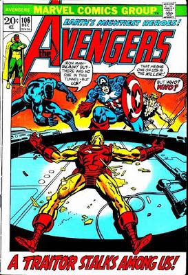 Avengers #106, the Space Phantom
