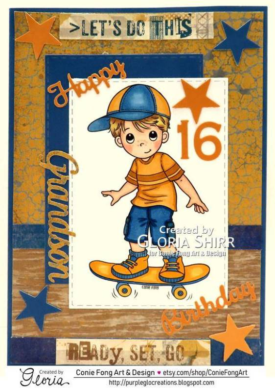 Featured Card at Digi Choosday Challenge Blog