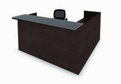 AM-400N Amber Reception Desk by Cherryman
