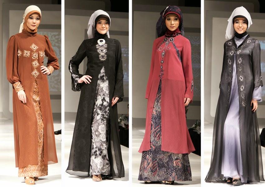 Koleksi baju pesta muslimah modis dan elegan