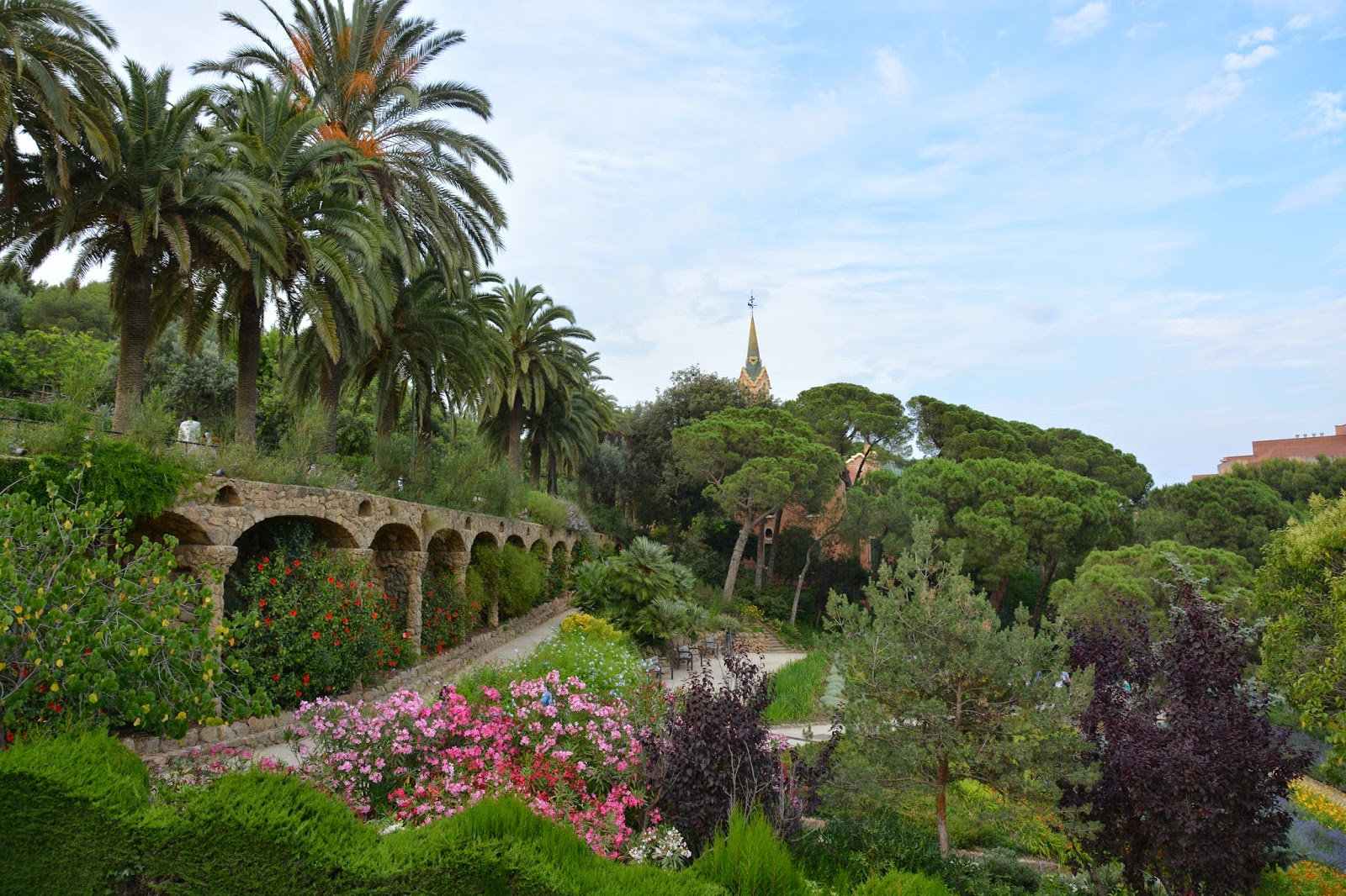 Park Guell Spain Antoni Gaudi Guadi Catalan architect