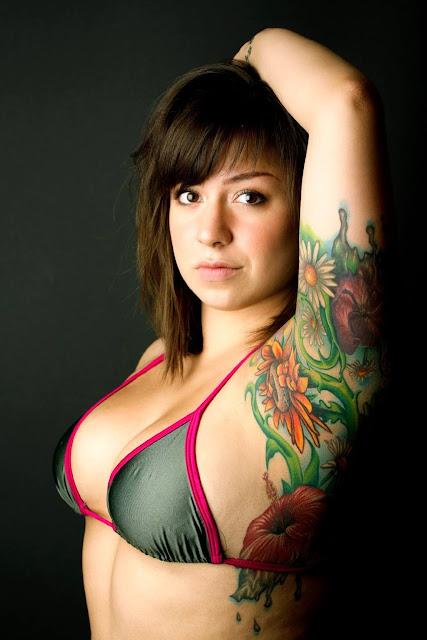 Sunflower Underarms Tattoo