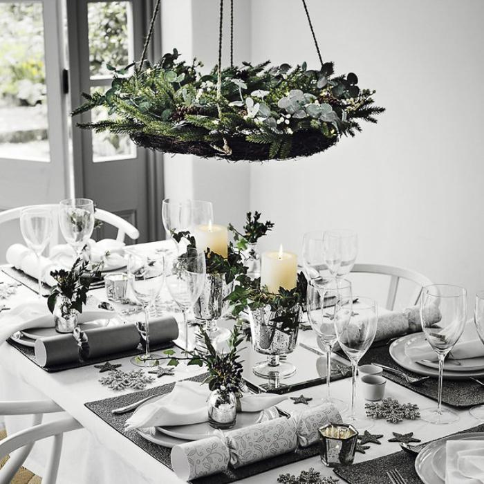 COmo decorar la mesa en las fiestas de Navidad NOchebuena