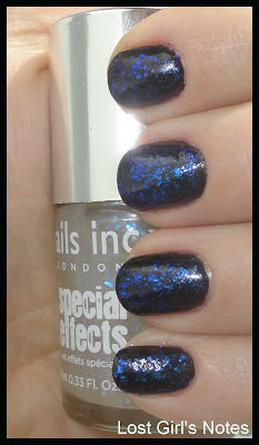 nails inc. the old vic collection swatches and review