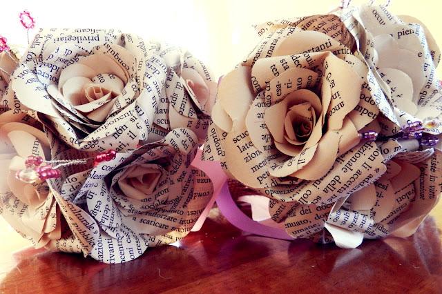ecosposi matrimonio ecologico fiori di carta