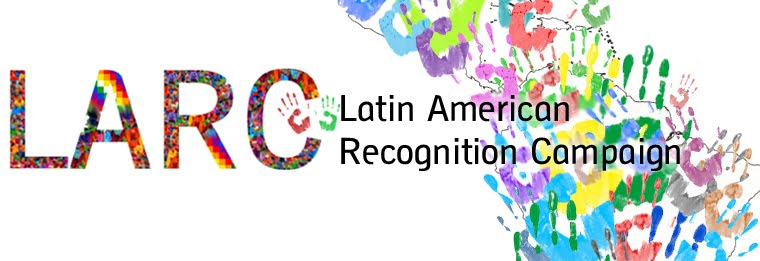 Latin Americans Recognition Campaign UK
