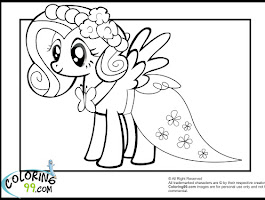 Human My Little Pony Coloring Pages