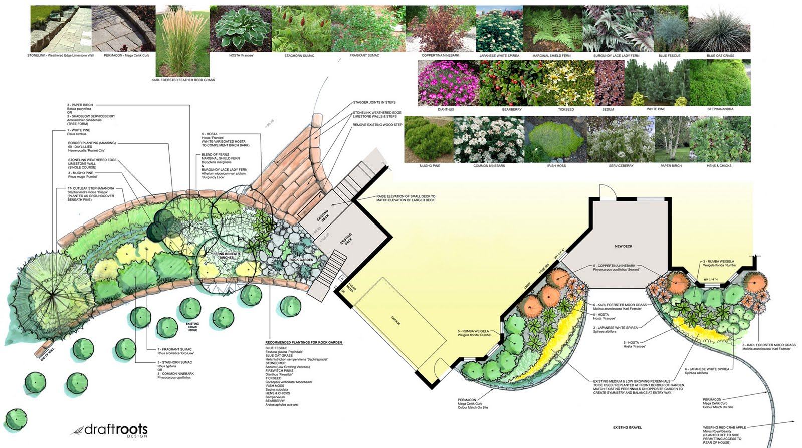 THE SEED A Landscape Design Blog Making Old School New Multi Media Hand Drawn Designs