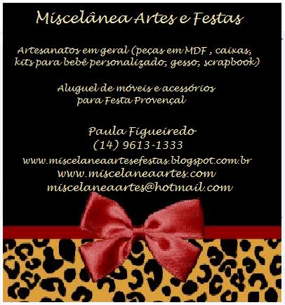 Miscelânea Artes e Festas