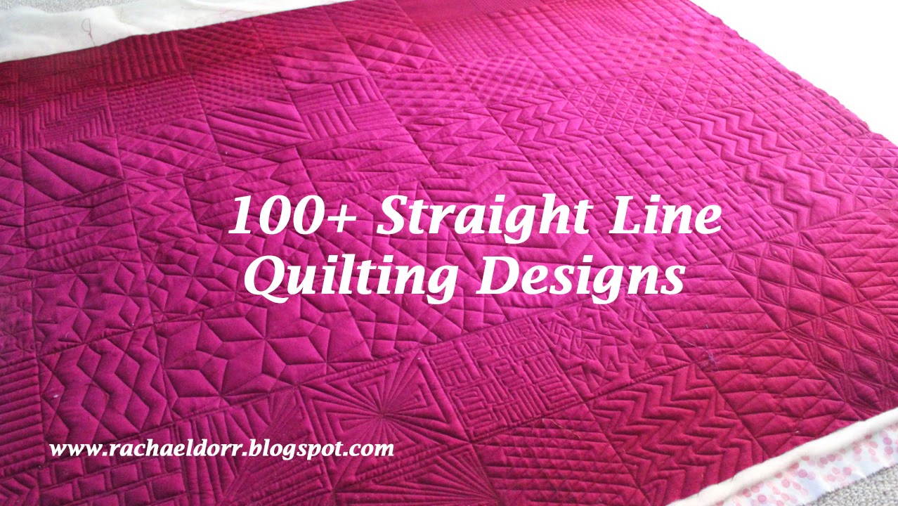 Single Line Quilting Patterns ~ cafca. info for .