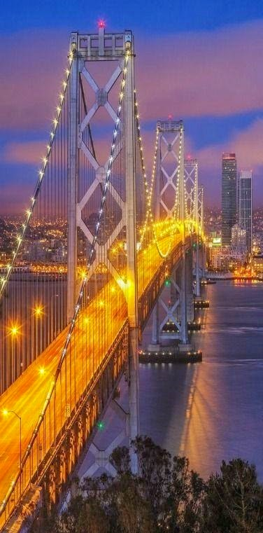 Bay Bridge, San Francisco–Oakland, California.