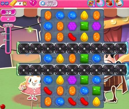 Candy Crush Saga 557