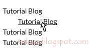 Membuat Link / Gambar Bergerak Bergoyang / Nudging di Blog