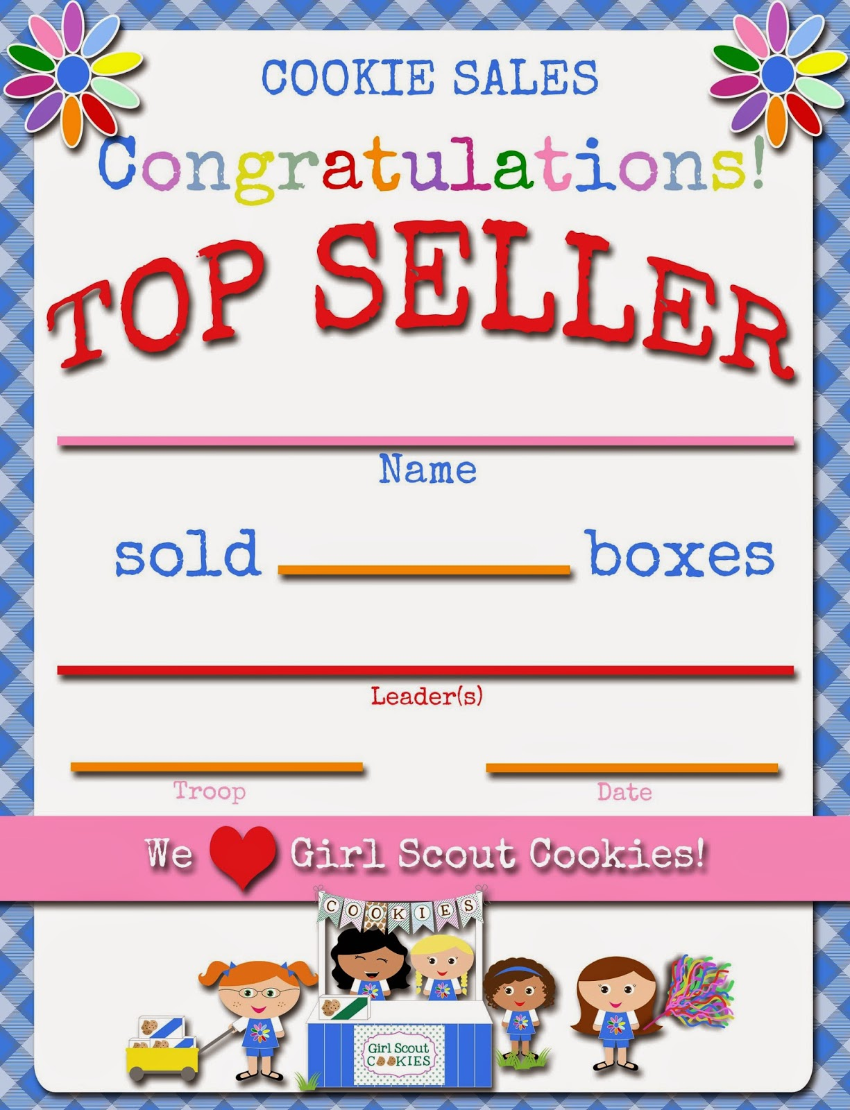 Pin Girl-scout-certificates-printable-free on Pinterest