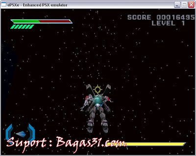 Game Omega Boost PS1 2