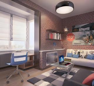 dekorasi+kamar+tidur+remaja Ide Kreatif Kamar Tidur Remaja