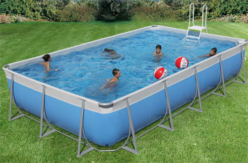 Construir una piscina en casa ideas para decorar for Piscina inflable decathlon