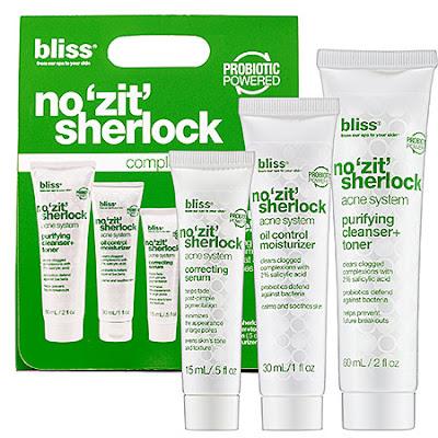 "Bliss, Bliss Spa, Bliss No ""Zit"" Sherlock Facial, Bliss facial, facial, skin, skincare, skin care, Bliss skincare, Bliss skin care"