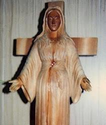 Imagem de Nossa Senhora chorou Sangue em Akita, no Japão.