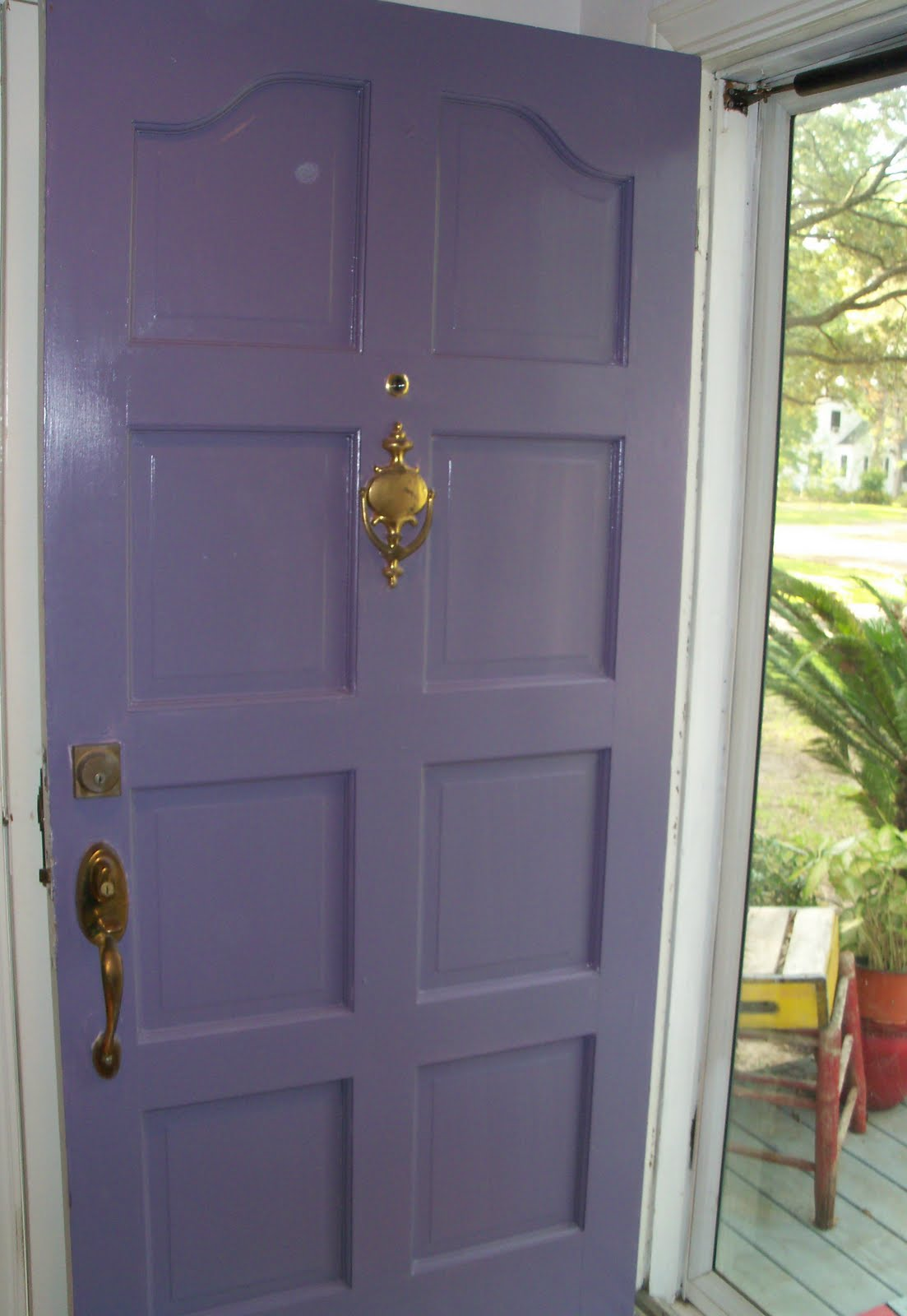 1600 #704638 SUSAN'S COLORFUL LIFE: Pretty Purple Houses .Yes .Purple! wallpaper Purple Front Doors 47051103