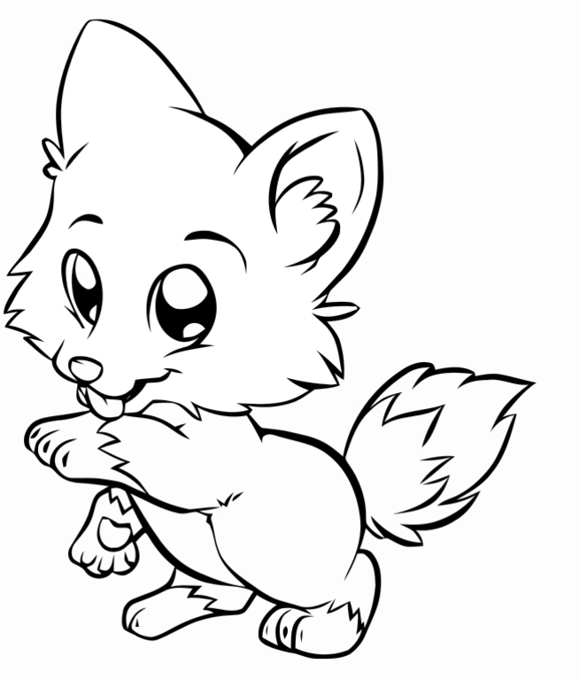 childrens coloring pages with puppies - photo#4