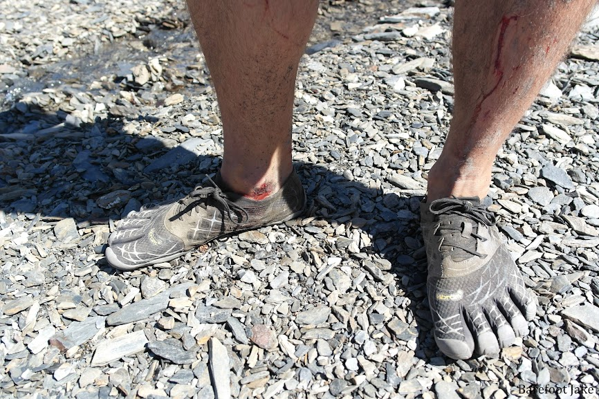 Minimalist footwear mountaineering
