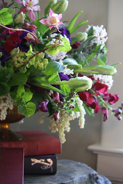 Niskayuna Co-Op Nursery School Silent Auction Flower Arrangement