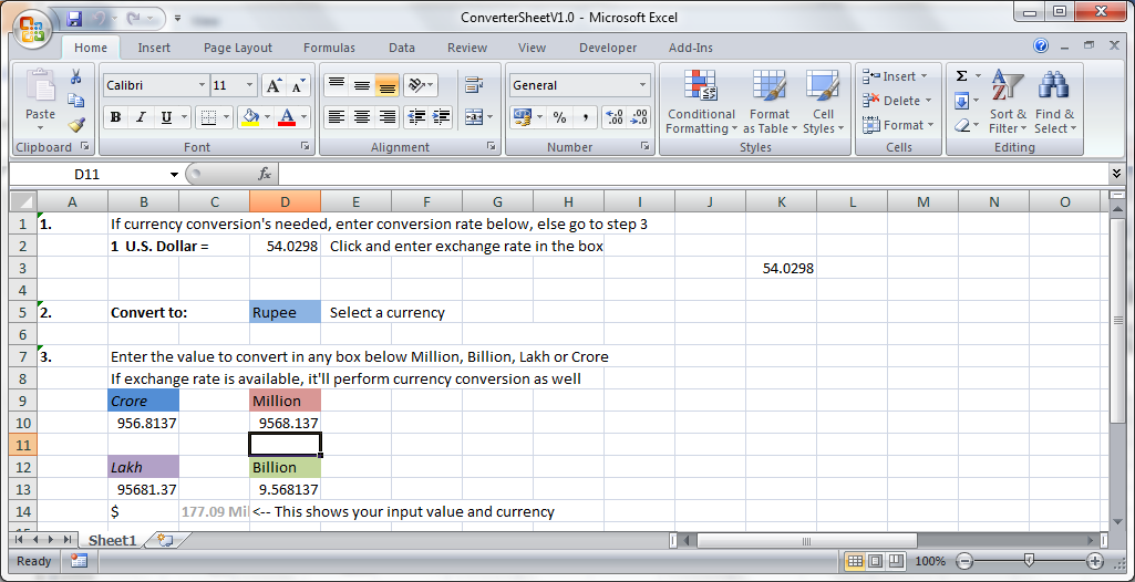 Forex converter million to billion