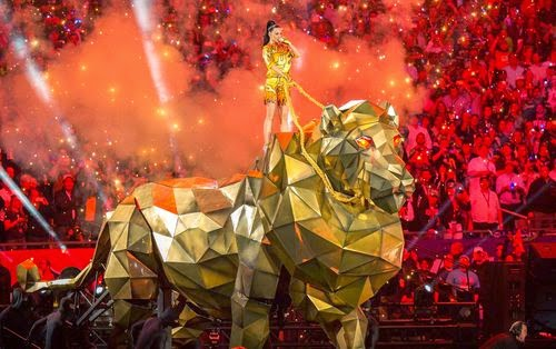 Katy Perry: So was the Super Bowl show at the ex