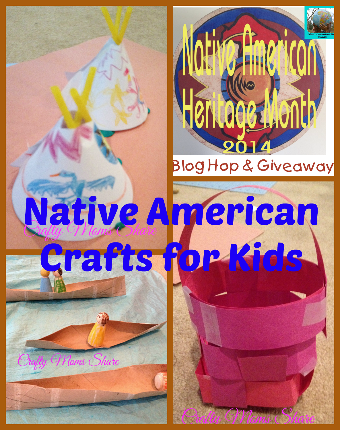 Crafty Moms Share: Native American Crafts and Activities Book ...