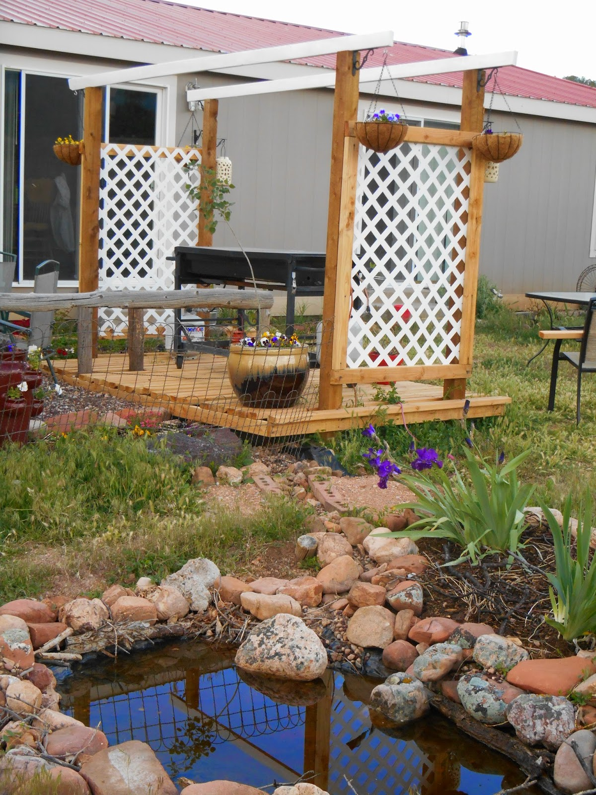 Dry Creek: An Experiment in Sustainable Living: Outdoor Kitchen ...