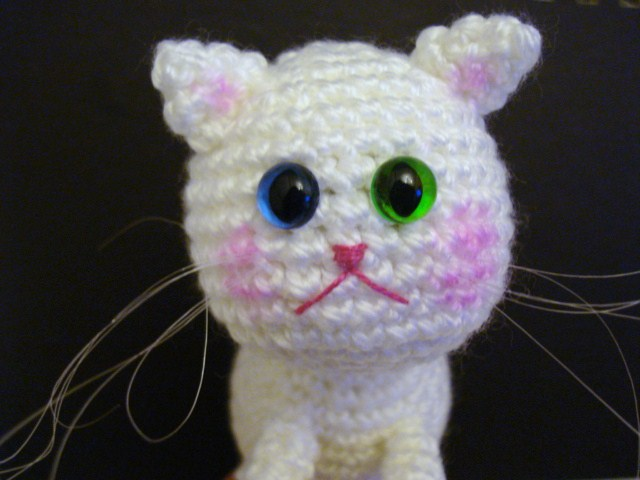 Tutorial Amigurumi Kitty : AllSoCute Amigurumis: Crochet Amigurumi Cat, Kitten, Kitty ...