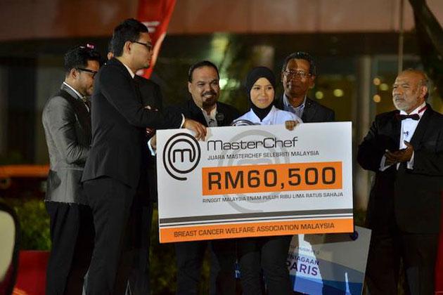Syura Juara MasterChef Selebriti Musim Kedua Tahun 2013