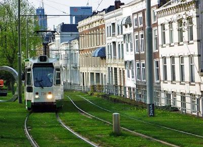 transporte publico rotterdam tranvia rotterdam