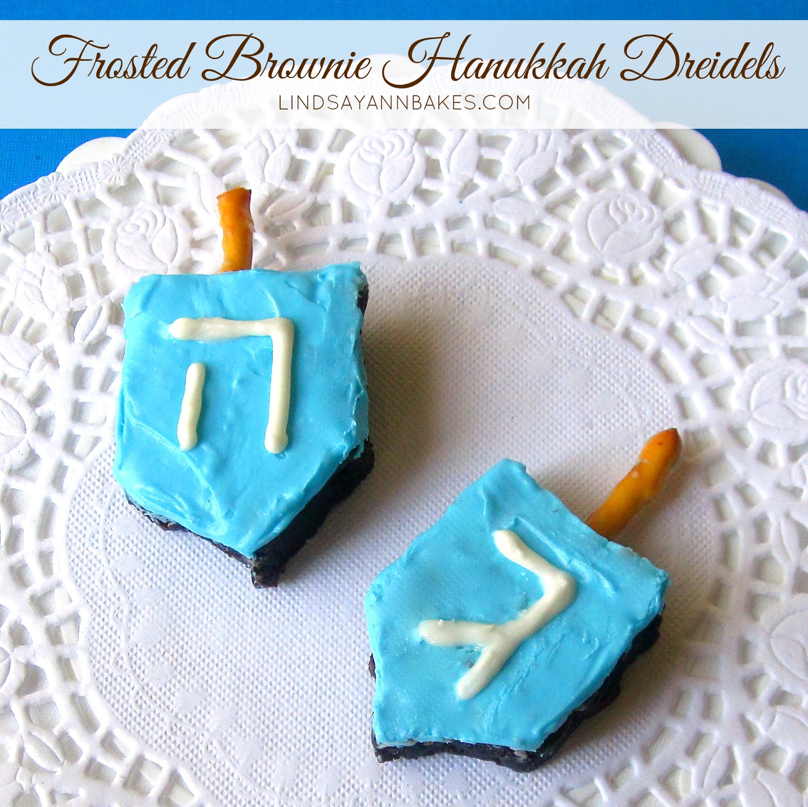 Uncategorized Edible Dreidels frosted brownie hanukkah dreidels lindsay ann bakes i helped develop these for the december 2013 edition of family fun magazine along with some christmas trees kids can even get