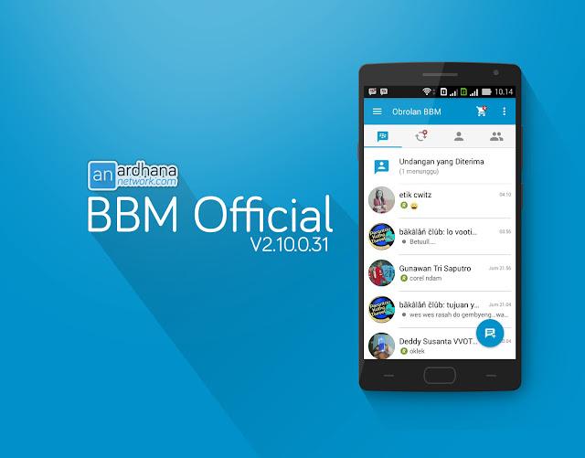 BBM Official V2.10.0.31