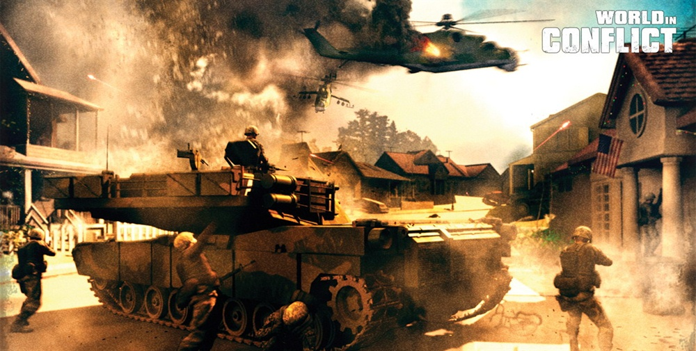 World in Conflict Complete Edition Download Poster