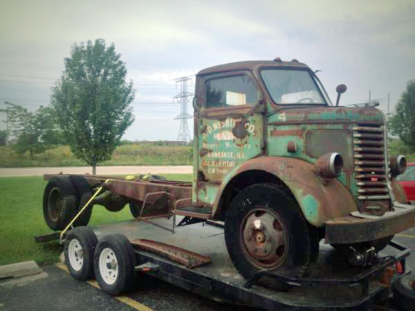 1948 Diamond T COE Cabover Truck