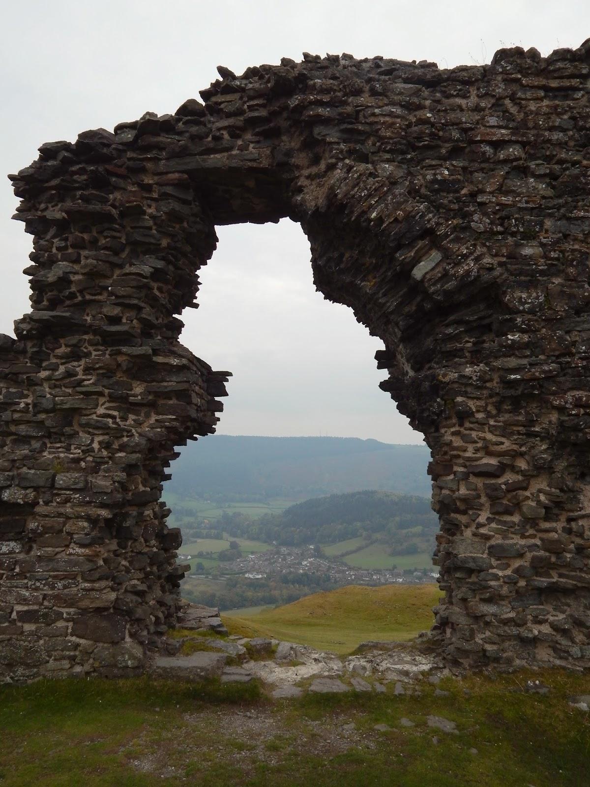 Dinas Bran North Wales in Autumn