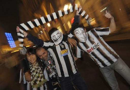 Juventus fans, you're doing it right!