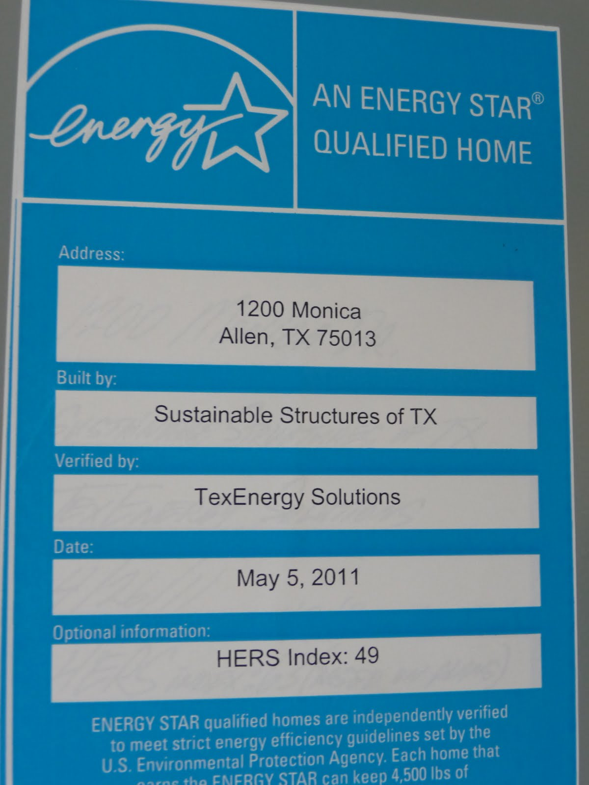 A better earth montgomery farm a vision for a for Most energy efficient home construction