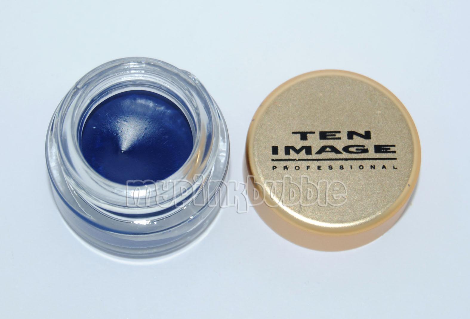 Ten image eyeliner blue