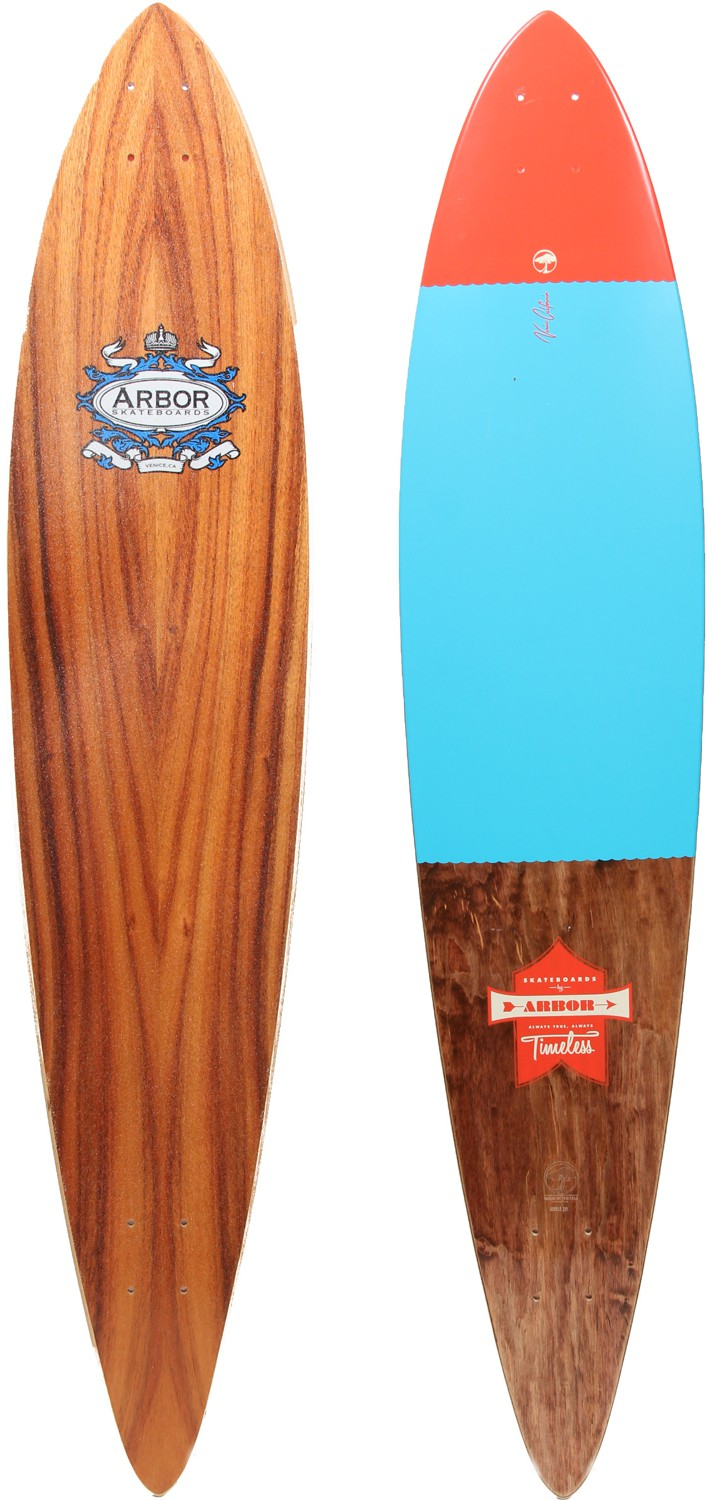 Pintail Longboard Template