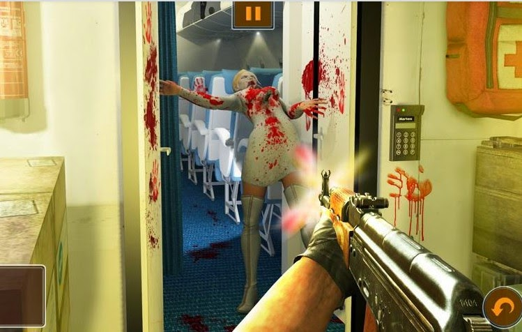 Zombies On A Plane walkthrough
